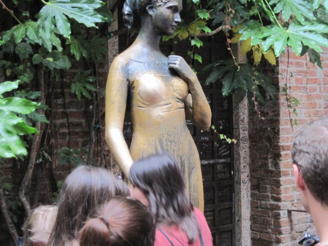 Statue of Juliet in Garden (Linda C)