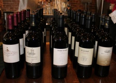 Tormaresca wines (Linda C)